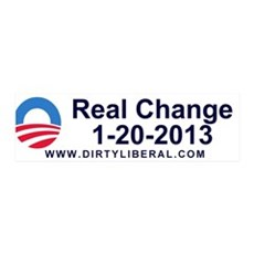 Real Change 1-20-2013 anti-obama sticker