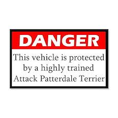 Attack Patterdale Terrier Sticker