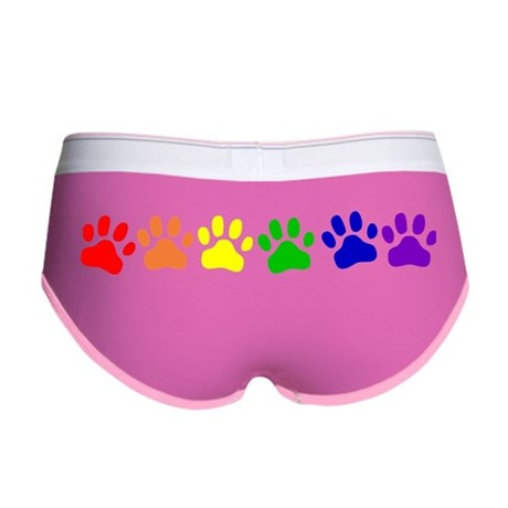 Rainbow Paws Women's Boy Brief