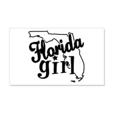 Florida Girl 20x12 Wall Peel