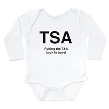 TSA Long Sleeve Infant Bodysuit