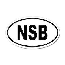 NSB 20x12 Oval Wall Peel