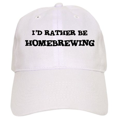 Rather be Homebrewing Cap
