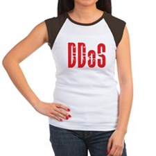 DDoS Women's Cap Sleeve T-Shirt