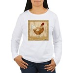 Golden Hen Women's Long Sleeve T-Shirt
