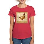 Golden Hen Women's Dark T-Shirt