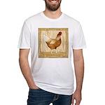 Golden Hen Fitted T-Shirt