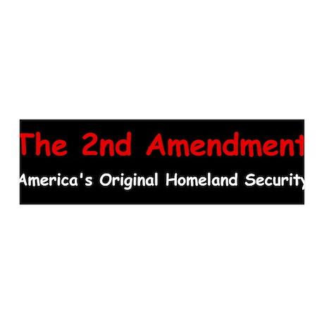 2nd Amendment 36x11 Wall Peel