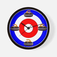 Curling Clock (w/stone)