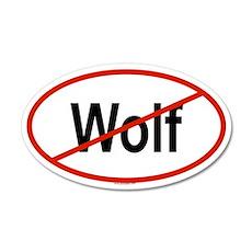 WOLF 20x12 Oval Wall Peel