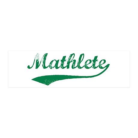 Vintage Mathlete 5 20x6 Wall Peel