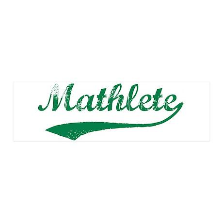 Vintage Mathlete 5 36x11 Wall Peel