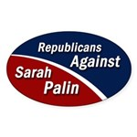 Republicans Against Sarah Palin sticker
