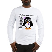 Penguin Fibromyalgia Long Sleeve T-Shirt