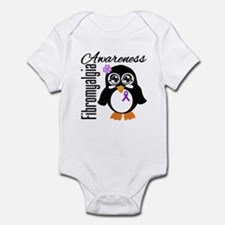 Penguin Fibromyalgia Infant Bodysuit