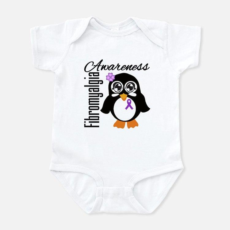 Penguin Fibromyalgia Infant Bodysuit
