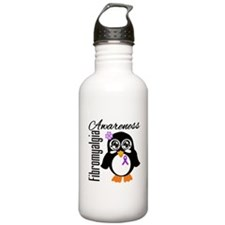 Penguin Fibromyalgia Water Bottle