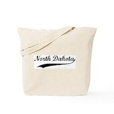 Vintage North Dakota Tote Bag