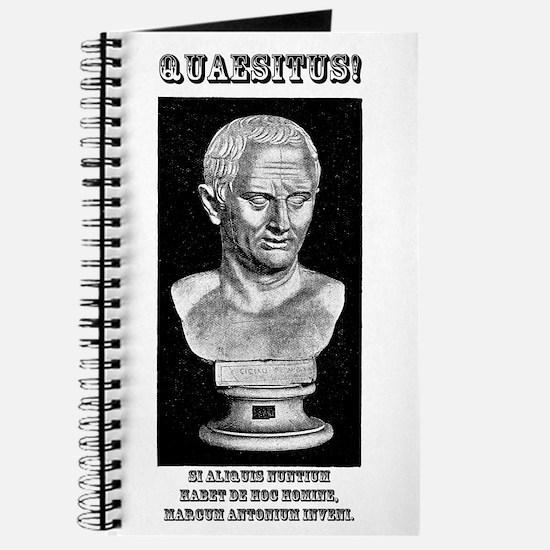Cicero Wanted (Latin) Journal