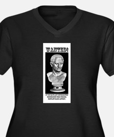 CIcero Wanted (English) Women's Plus Size V-Neck D