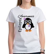 Penguin Epilepsy Awareness Tee