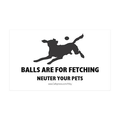 Neuter Your Pets 35x21 Wall Peel