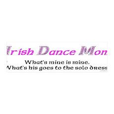 Irish Dance Mom - 36x11 Wall Peel