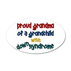 Proud Grandma....2 (Grandchild DS) Wall Decal
