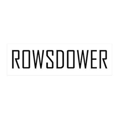Rowsdower 36x11 Wall Peel
