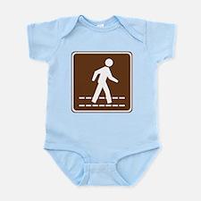Pedestrian Crossing Sign Infant Bodysuit