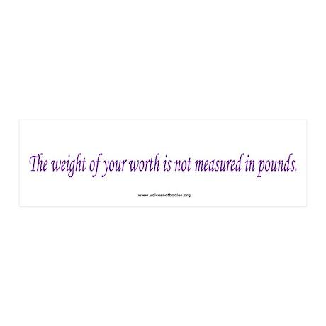 Eating Disorders Awareness 20x6 Wall Peel