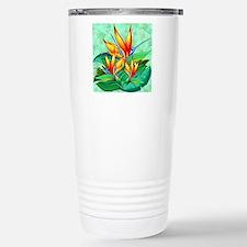 Cute Tropical flower Travel Mug