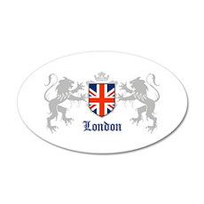 Union lions 20x12 Oval Wall Peel