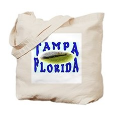 I Love Tampa Florida Alligator  Tote Bag