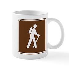 Hiking Trail Sign Mug