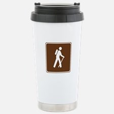 Hiking Trail Sign Stainless Steel Travel Mug