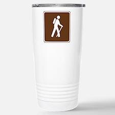 Hiking Trail Sign Travel Mug