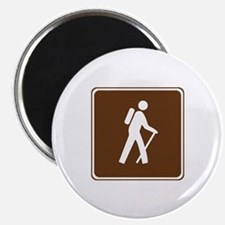 Hiking Trail Sign Magnet