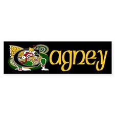 Cagney Celtic Dragon Bumper Sticker