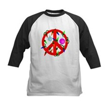 Peace For Christmas Red Tee