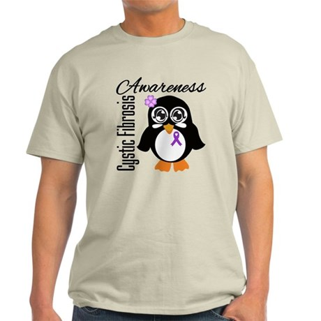 Penguin Cystic Fibrosis Light T-Shirt
