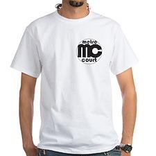 Metro Court White T-Shirt