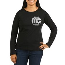 Metro Court Women's Long Sleeve Dark T-Shirt