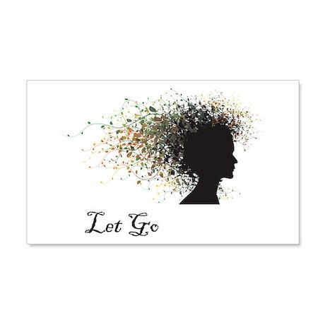 Let Go 20x12 Wall Peel