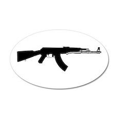 AK-47 20x12 Oval Wall Peel
