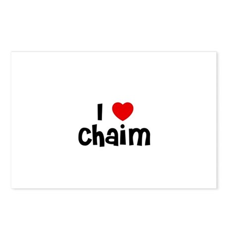 I * Chaim Postcards (Package of 8)