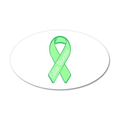 Celiac Disease 35x21 Oval Wall Peel