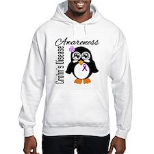 Penguin Crohn's Disease Hoodie