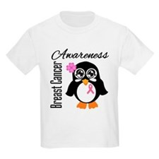 Penguin Breast Cancer T-Shirt