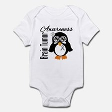 Penguin Brain Tumor Infant Bodysuit